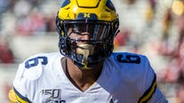 Michigan LB Uche entering NFL draft, plans to play in bowl game
