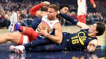 Griffin, Pistons pound Cavs 127-94