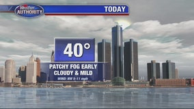 Patchy Fog Early, Clouds Later