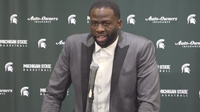 "WATCH: Draymond Green ""I love this place"" and much more as he has his jersey retired at Breslin"