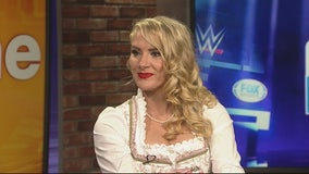 WWE Superstar Lacey Evans on Friday Night Smackdown Live