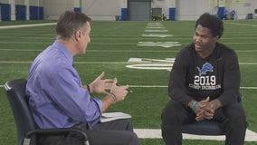 WATCH: Miller goes one-on-one with Kerryon Johnson