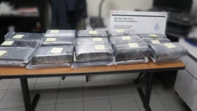 30 bricks of suspected cocaine seized at Ambassador Bridge