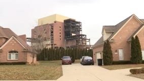 Scheduled waterfront implosion of DTE Connors Creek plant causes concern