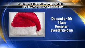 Detroit Santa Speedo Run