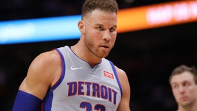Pistons star Blake Griffin has surgery on left knee, extended rehab coming