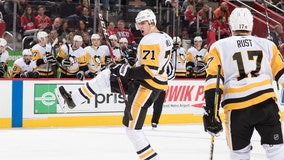 Penguins top Red Wings 5-3 for 3rd straight win