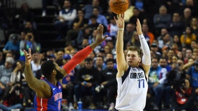 Doncic's triple-double lifts Mavs past Pistons in Mexico City