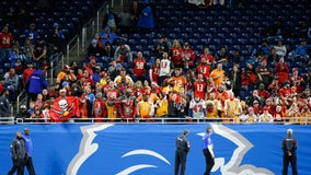 Lions lose 7th straight amid dreary Ford Field atmosphere
