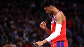 Wood scores career-high 28 as Pistons crush Spurs