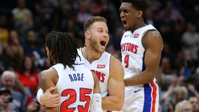 WATCH: Rose caps big 4th with winning jumper, Pistons edge Pelicans