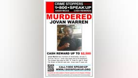 Crime Stoppers issue an award for person responsible for Jovan Warren's death