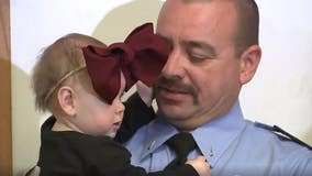 Mom reunites first responders with baby they helped deliver