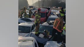 Massive 69-car pileup in Virginia leaves several with critical injuries, shuts down interstate