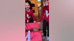 Oakland County sisters explode with joy when Christmas wish for new puppy comes true