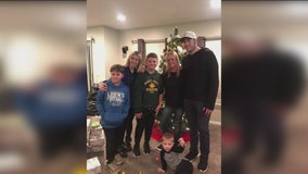 Matthew and Kelly Stafford surprise young fans who lost their dad for Christmas