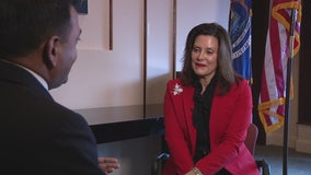 Gas taxes and budget battles - Gov. Whitmer on her first year in office