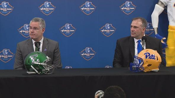 WATCH: Quick Lane Bowl Press Conference