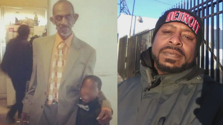 A side-by-side photo of victims Anthony Foster and Devon Gillard.