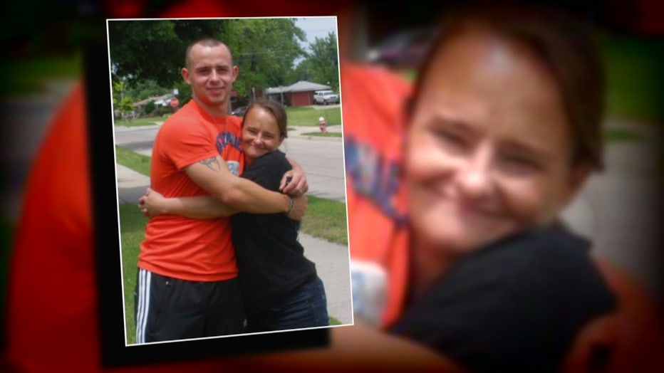 A Warren Marine said his mother was shot and killed after an argument with a neighbor.