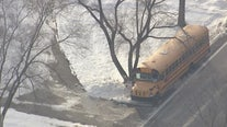 'Hero' bus driver hurt when ice crashes through windshield in Shelby Twp.