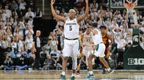 Winston leads No. 8 Michigan St. to 74-58 win over Minnesota