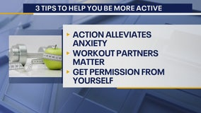 Tips to help you be more active!