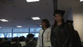 Beauty school started with Motor City Match celebrates graduating class