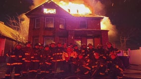 13 Detroit firefighters, 4 sergeants charged in house fire photo