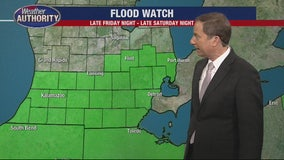 Winter Storm and Flood Watches for the weekend