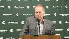 WATCH - Tom Izzo on MSU's victory over Illinois