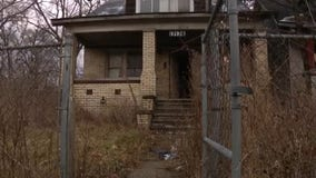 Detroit woman says gas leak by nearby squatters to blame for sickness