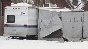 3 small children found inside camper on Detroit's east side, sparking investigation
