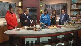 Healthy Super Bowl Snacks with Que