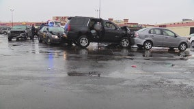 Armed robbery suspect crashes after Walgreens theft