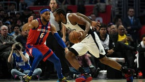 Clippers beat Pistons 126-112; George leaves with hamstring