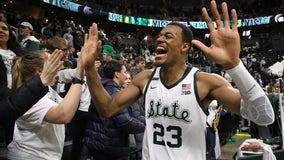 No. 14 Michigan State tops No. 12 Michigan