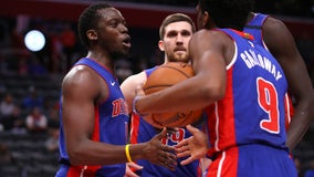 Rose, Jackson lead Pistons to 127-106 rout of reeling Kings
