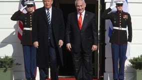 Trump unveils Middle East peace plan with two-state solution, tunnel connecting West Bank and Gaza