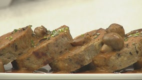 Andiamo's veal and mushroom meatloaf recipe