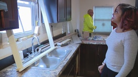 Detroit Land Bank homeowner gets surprise renovations from contractor