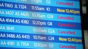 FAA halts all flights in and out of Chicago O'Hare airport due to winter storm