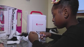 9-year-old fashion designer with custom Barbie clothes catches the eye of the toy maker