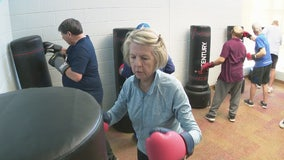 Those suffering from Parkinson's are boxing to stave off symptoms