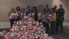 DPD reports: Operation Bear Hug was a success - an 850 stuffed bear success