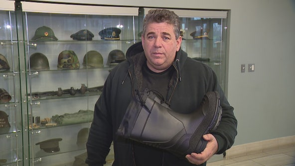 Man on a mission: Brother Joe collects boots for homeless vets