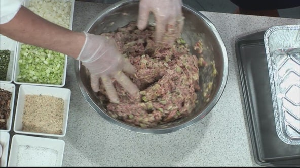 Andiamo shows us how to make veal and mushroom meatloaf