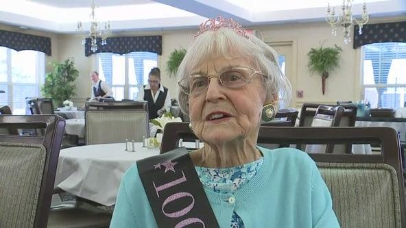 Lesson in longevity: 5 residents in senior living center turn 100