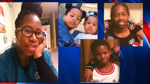 Detroit police looking for mother, 4 young children who may be in danger