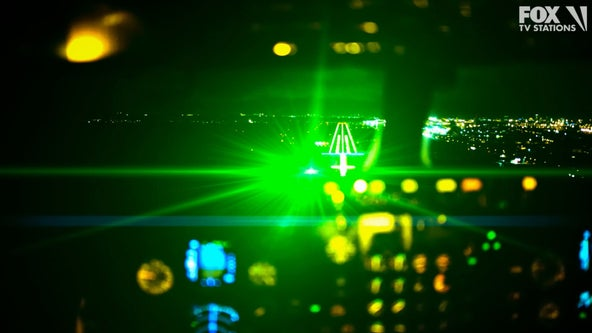 Florida man arrested for pointing lasers as planes landed
